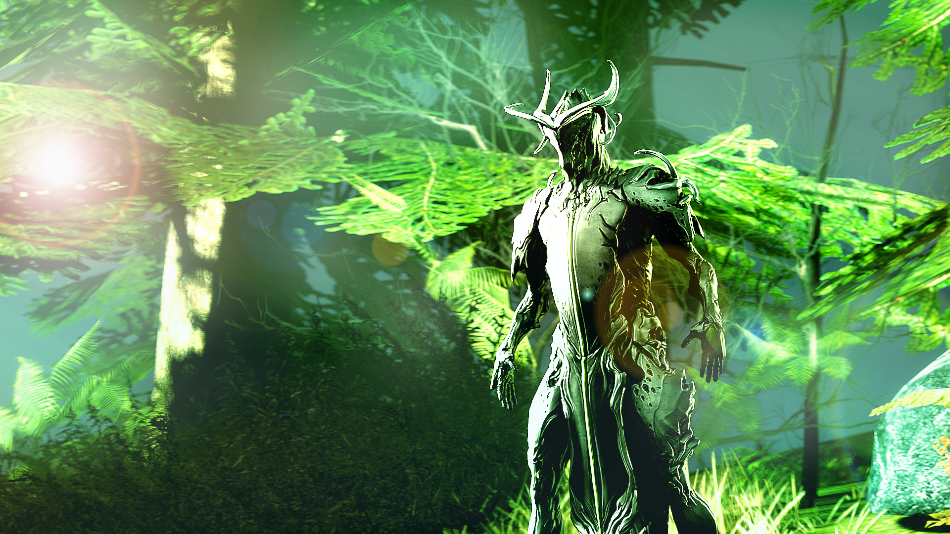 Oberon Warframe Art Warframe: Guardian of ...