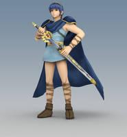Smash 3C Alt Costume: Classic Marth