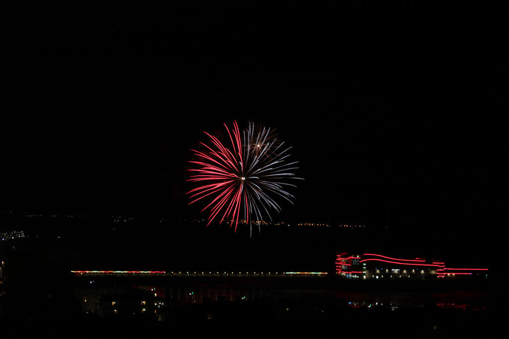 Grand Pier fireworks display Weston-super-Mare by jasewbb on