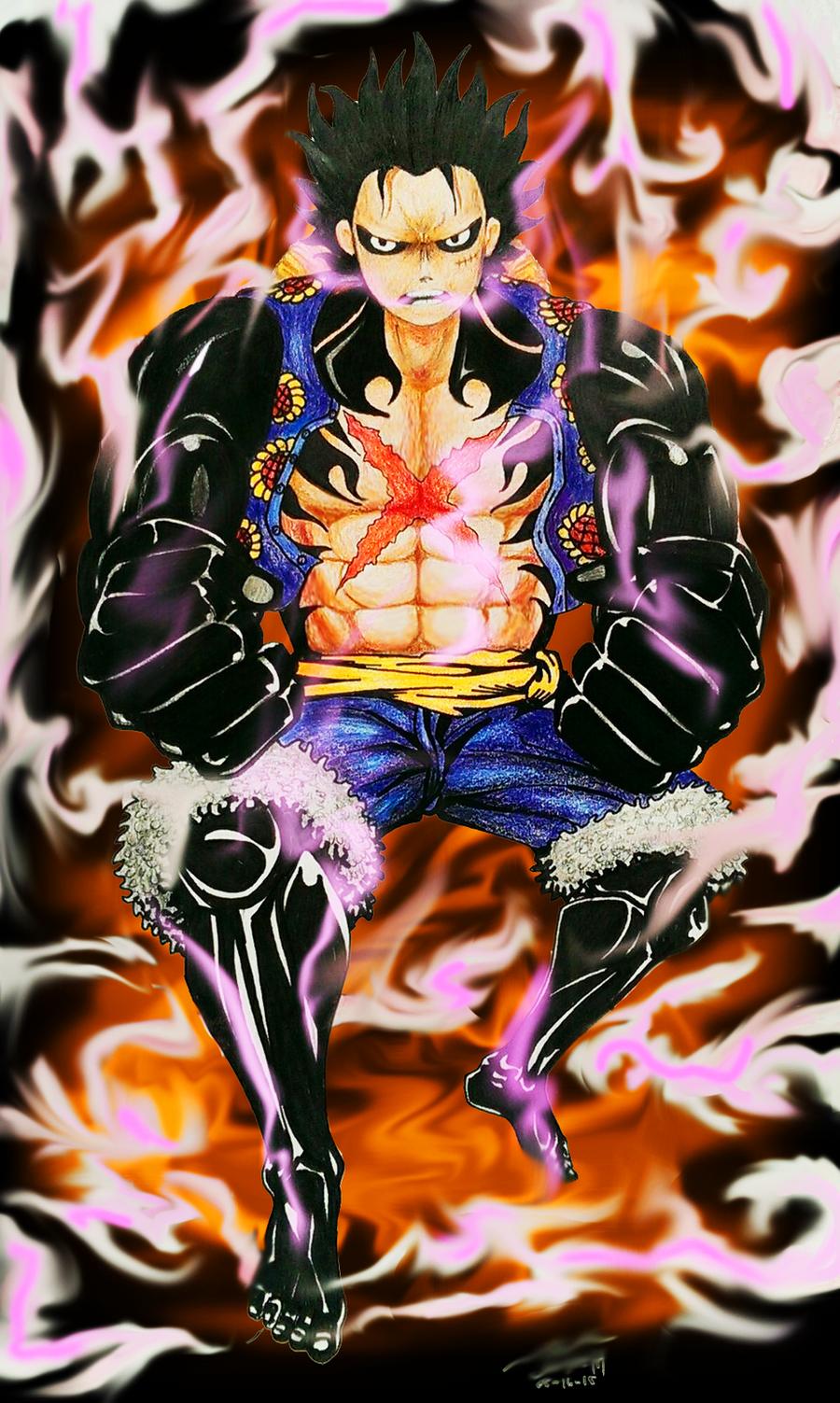 Luffy Gear 4 Tattoo: Luffy's Gear 4th By Jmanalabe On DeviantArt