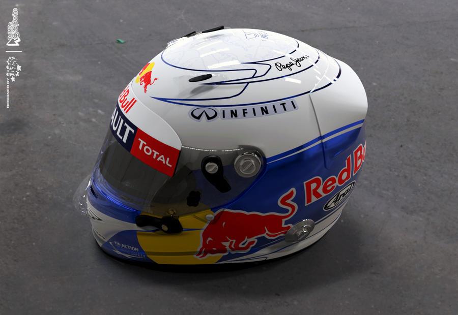 Sebastian Vettel Helmet 2014 Sebastian Vettel 2012 F1
