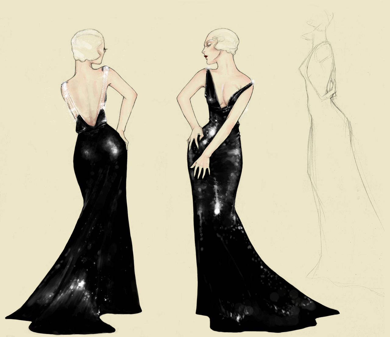 A Gown by hilarity on DeviantArt