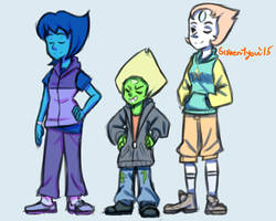 Casual Gems by ScreenDrawingShit