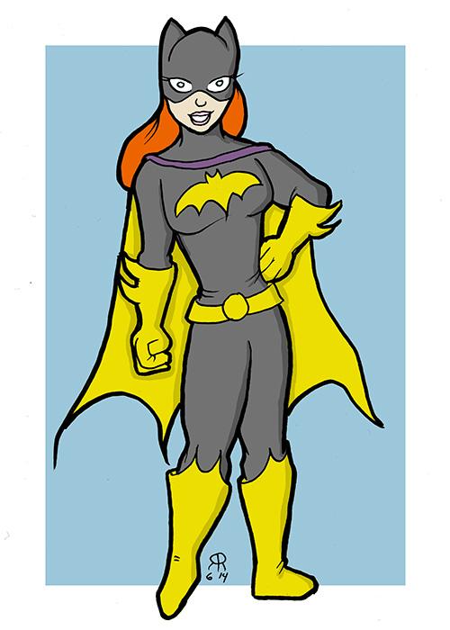Batgirl by hallopino