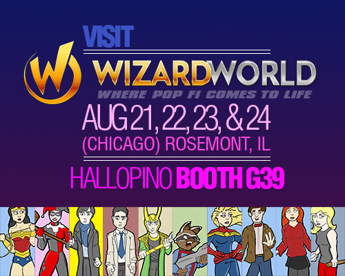 Wizard World Chicago by hallopino
