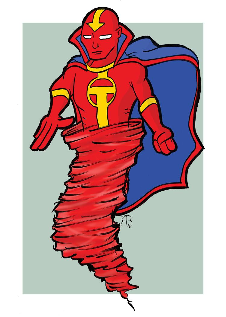 Red Tornado by hallopino