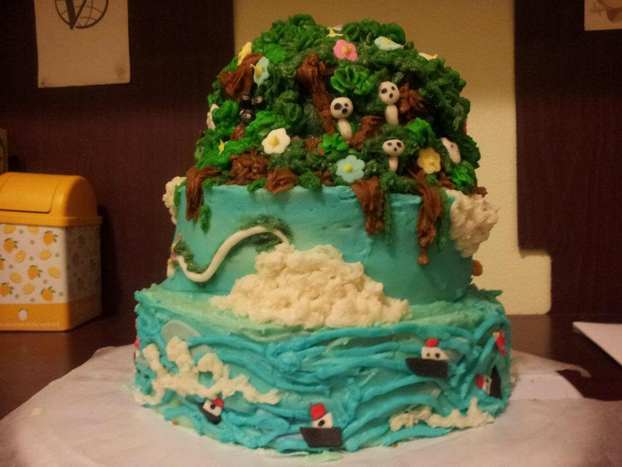 Cake Art Supplies Castle Hill : Miyazaki Cake by buttsprincess on DeviantArt