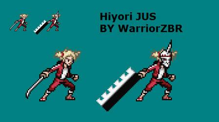 Hiyori Jus Project WIP by WarriorZBR