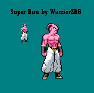 Super Buu JUS (???) by WarriorZBR