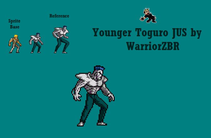 Younger Toguro JUS by WarriorZBR