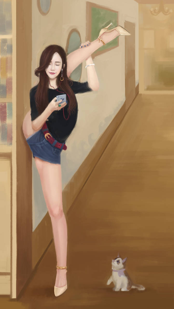 Flexible Asian Girl