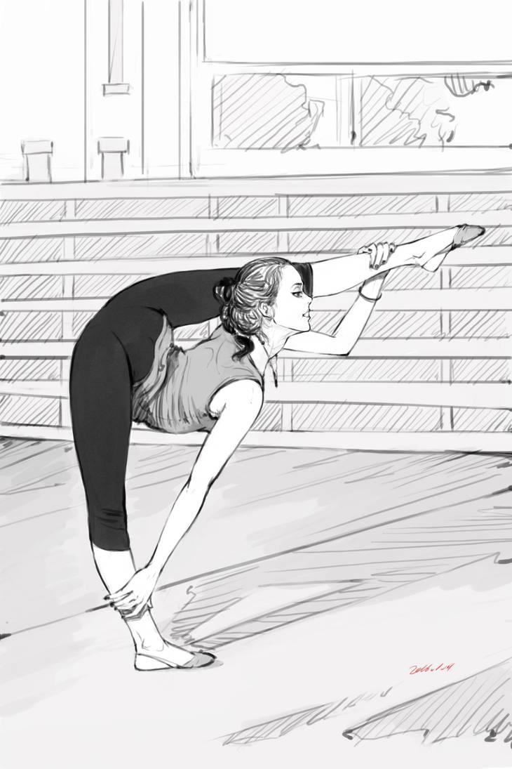rhythmic gymnastics by zhanyuedao123
