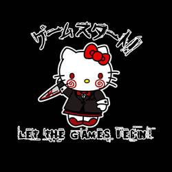 SAW Hello Kitty Tattoo
