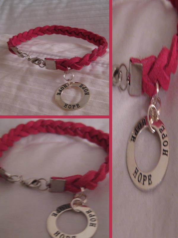 Hope charity bracelet by silvertales on deviantart for Jewelry that supports a charity
