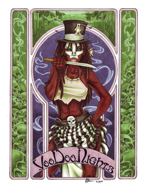VooDoo Nights by silvertales