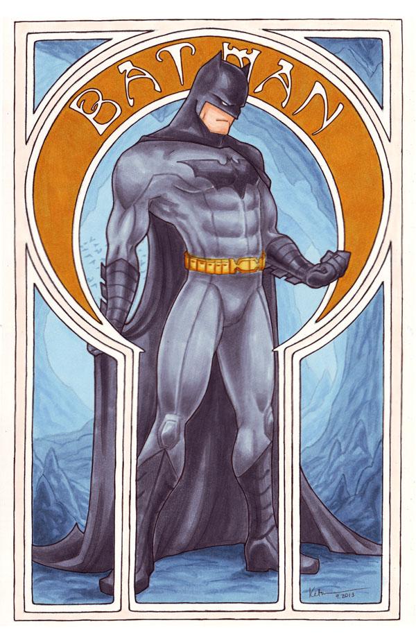 Book Cover Art Nouveau ~ Comic nouveau project batman by silvertales on deviantart