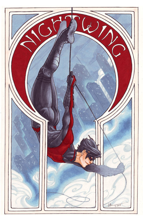 Comic Nouveau Project: Nightwing