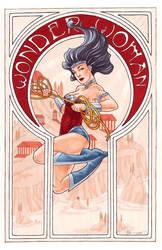 Comic Nouveau Project: Wonder Woman by silvertales
