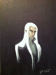 Daily Doodle April 24= Day 114: Thranduil