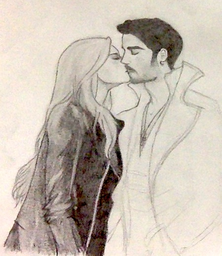 Captain Swan: Be patient... by destelloscuro