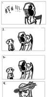 DEDAN STAHP!  - Comic Giftie