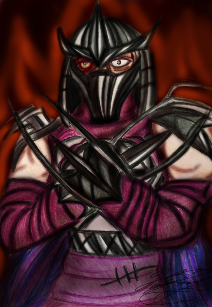 Oroku Saki: The Shredder by XxMoonlight-1-WishxX