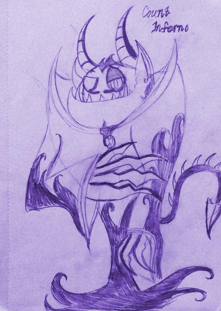 WOY: Count Inferno - Sketch by XxMoonlight-1-WishxX