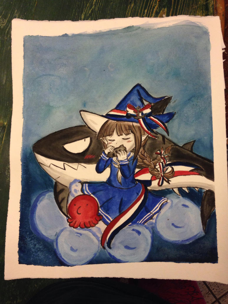Wadanohara and The Great Blue Sea by XxMoonlight-1-WishxX