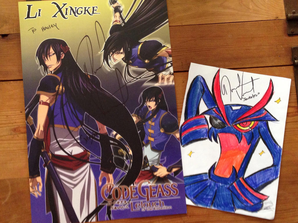 Autographs from David Vincent - Koya Con 2 by XxMoonlight-1-WishxX