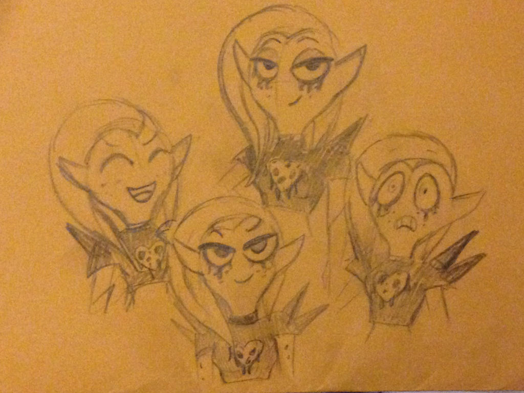 WoY: Lord Dominator Doodles by XxMoonlight-1-WishxX