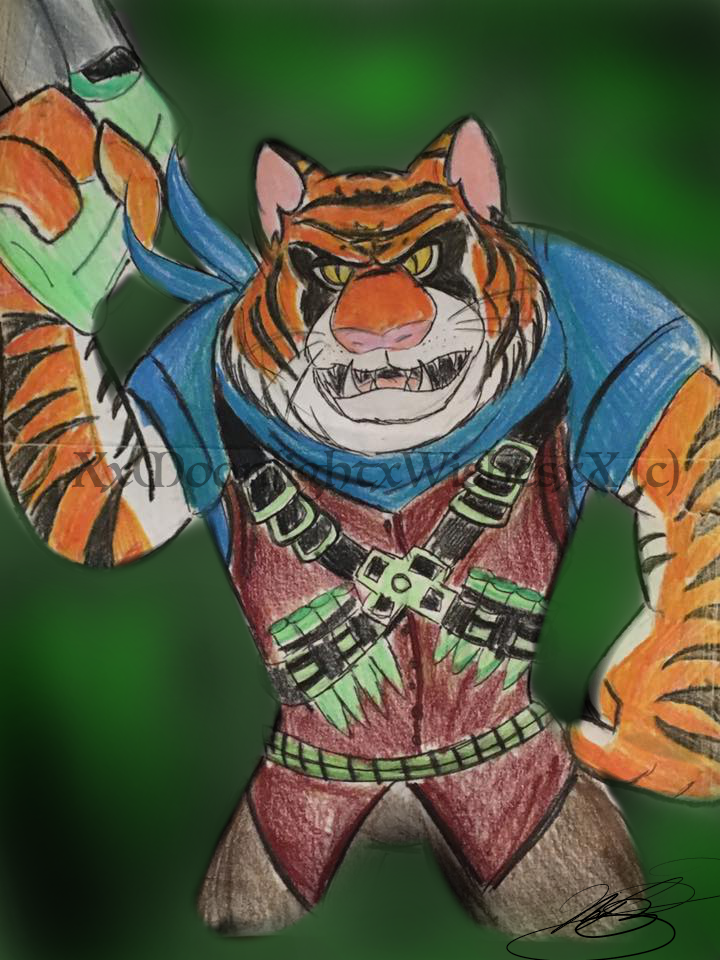 TMNT: Tigerclaw by XxMoonlight-1-WishxX