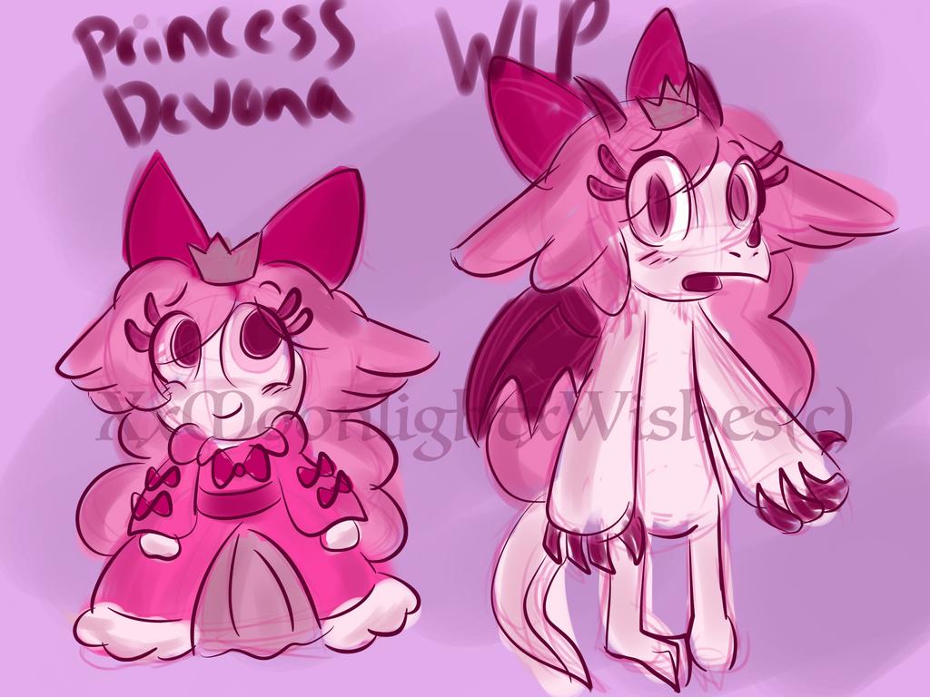 WoP: Princess Devona - WIP by XxMoonlight-1-WishxX