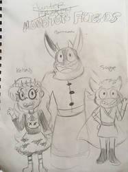 Monster Friends (MAJOR HB CHANGE) by xLittle-Miss-Horrorx