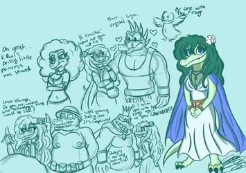 Krystal doodle dump