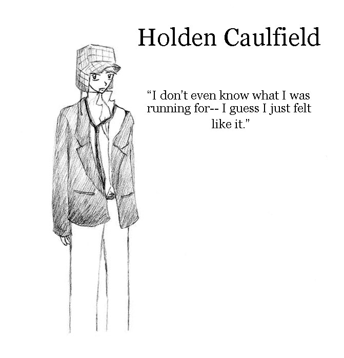 an analysis of holdens phony phobia in catcher in the rye by jd salinger