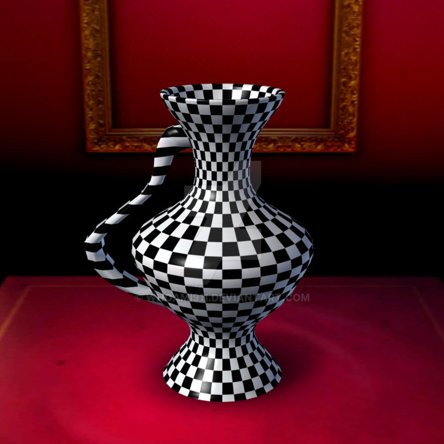 Checkerboardvase6144 by whoami911