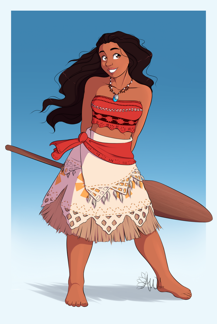 Moana by FairDahlia