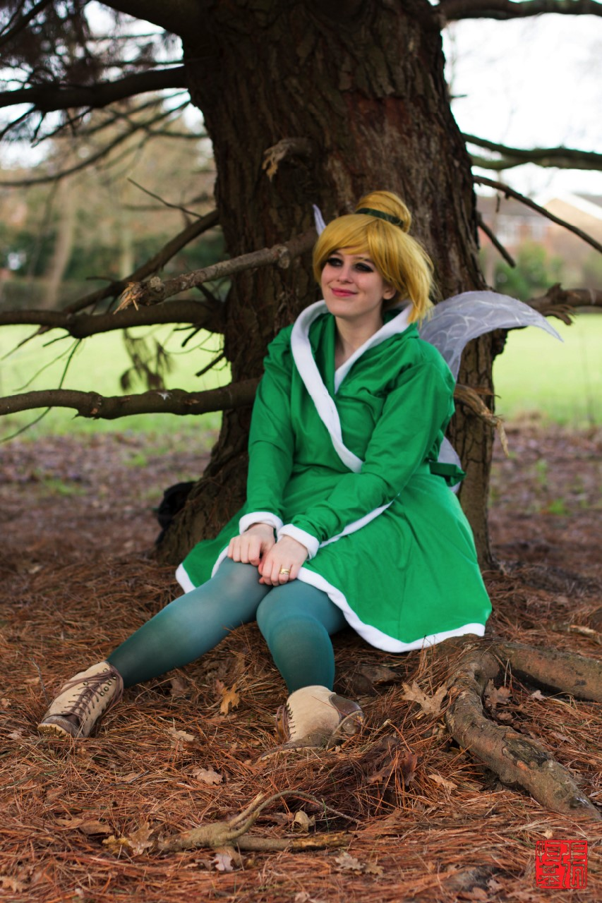 Tinkerbell Cosplay - Out in the Winter Woods by AskaLuna ...