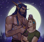 Vincent and Taros by Koettboid
