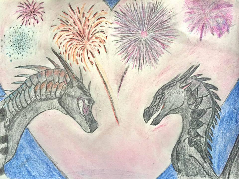 Fireworks by ShimmerRainWing
