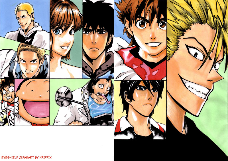 Eyeshield 21 Markers by kriffix