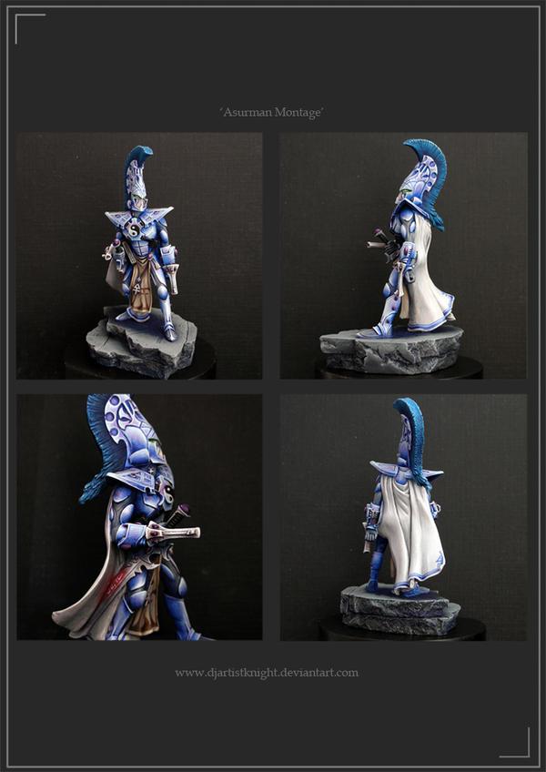 Asurman,Eldar Phoenix Lord by Djartistknight