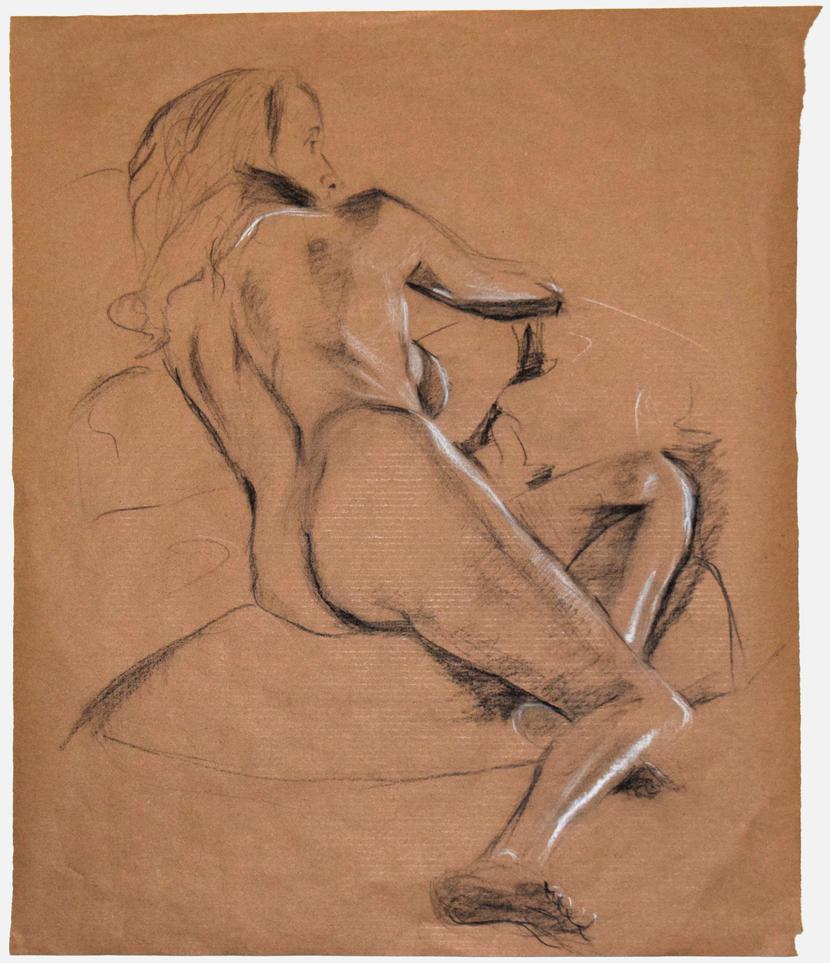 Life Drawing by reggigird