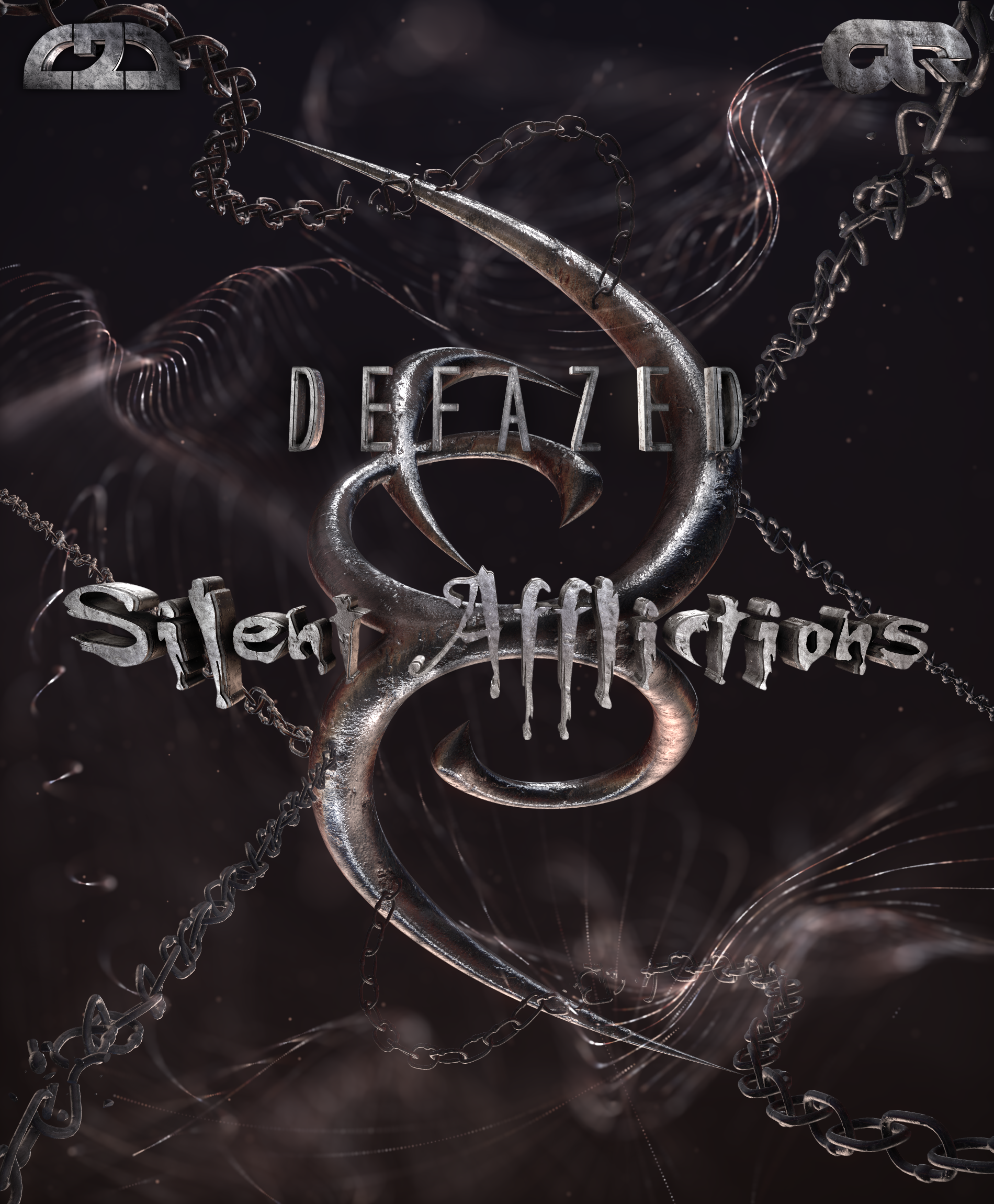 Defazed - Ghosty(Sillent Afflictions)(EP Cover)