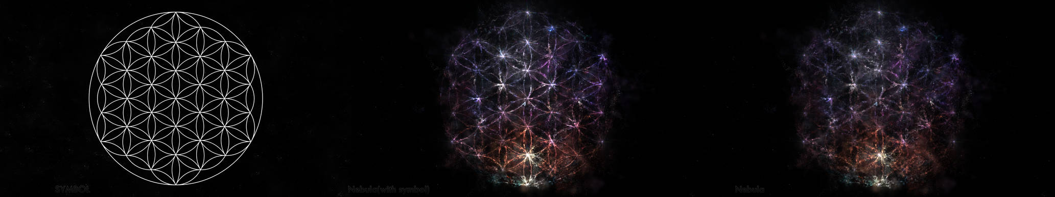 Flower Of Life - Nebula