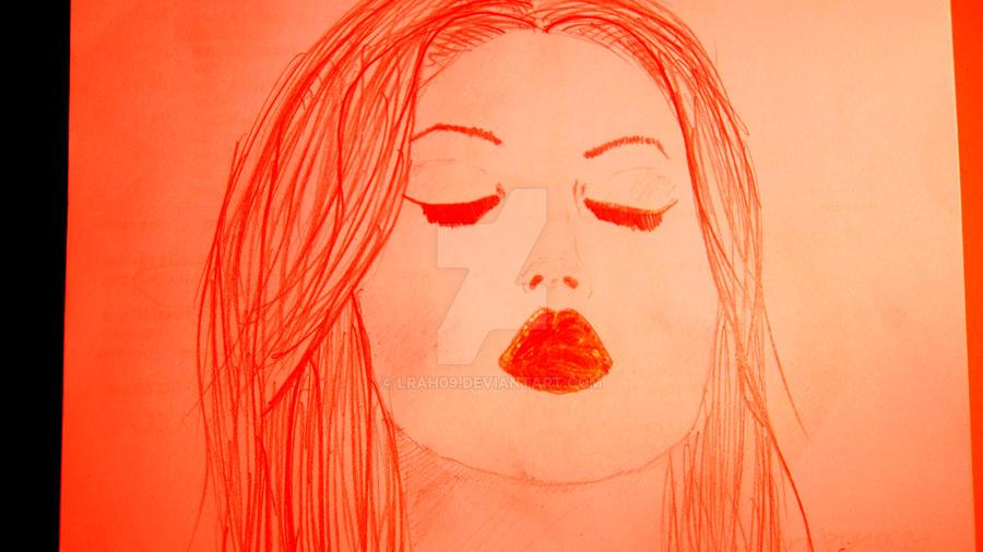 kiss girl by Lrah09