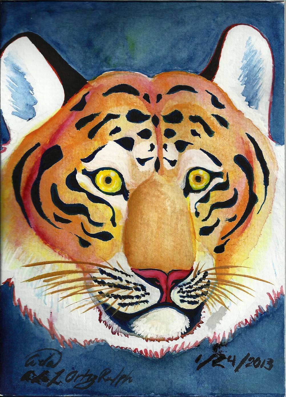 Eyes of A Tiger by Nakumah