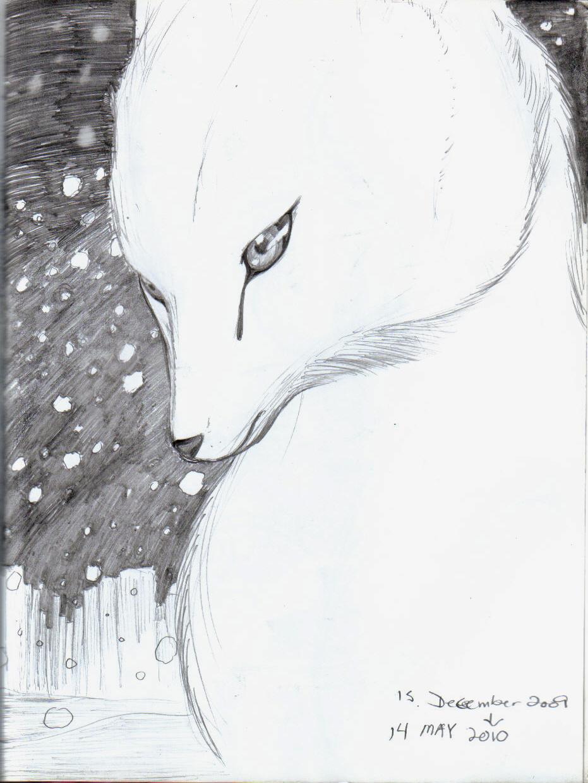 Winter the fox by Nakumah