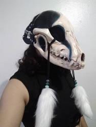 Druid Shaman K9 Skull Mask (WIP)