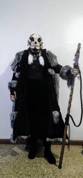 Druid Shaman Costume (Draped Hood)